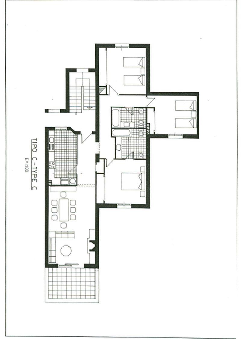 Floor plans aldea blanca - Apartment plan typ ...